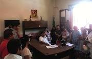 Se compromete alcalde  de Xochistlahuaca con antorchistas de Parota Quemada