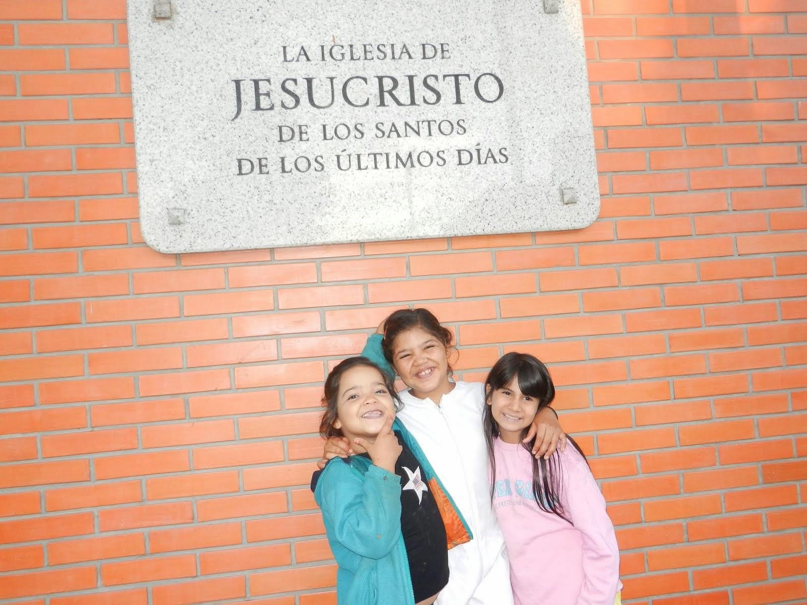 Jasmine's Friends at Church