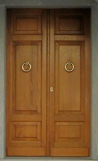 Drzwi dwuskrzydłowe kasetonowe dębowe