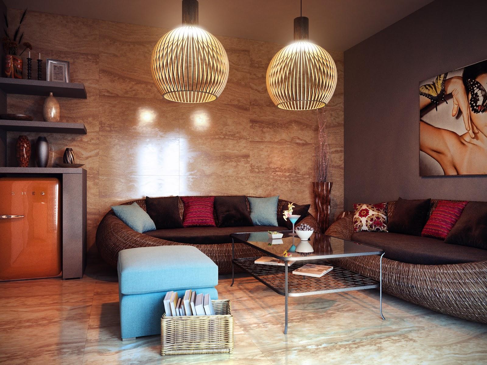 ruang+keluarga+rumah+modern Desain Rumah Modern Dari Karya Brilian Arsitektur Uglyanitsa Alexander