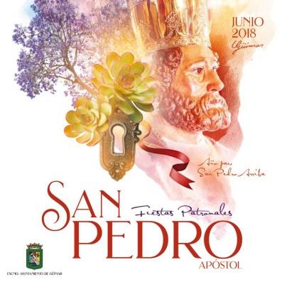 Programa de las Fiestas patronales en honor a San Pedro Apóstol 2018