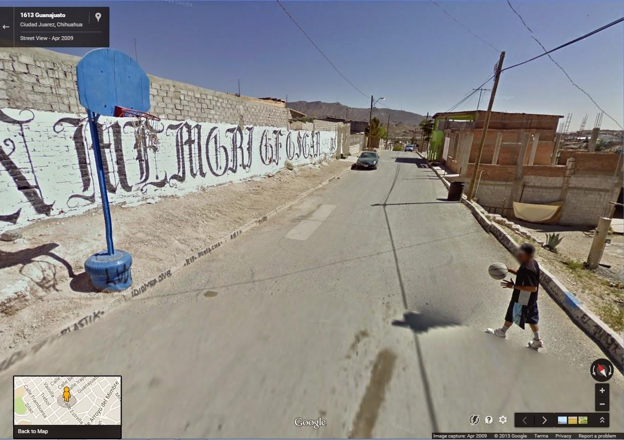 Rojonekku: google maps street view picture dump: street basketball ...