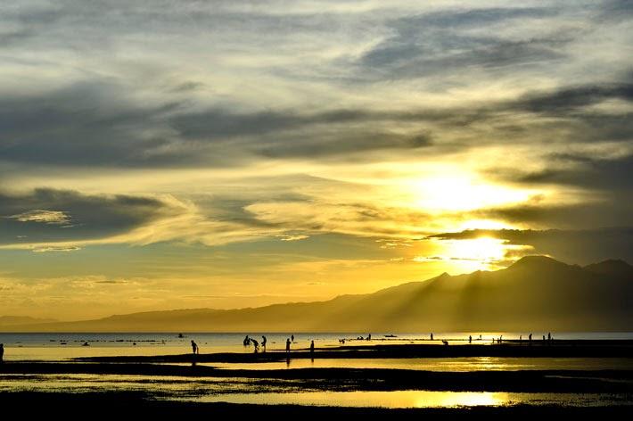 Sunset in Siquijor Island, Philippines