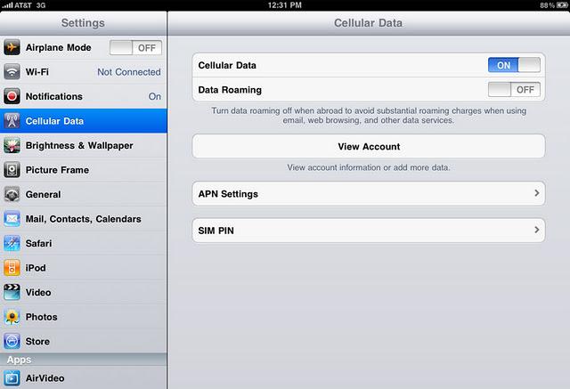 iPhone 5 Settings