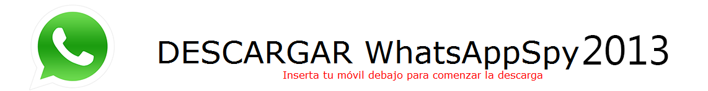 Descargar WhatsAppSpy 2013