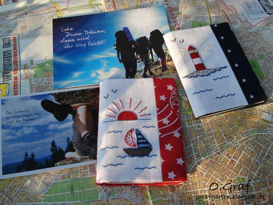 обложки на паспорт, вышивка гладью, O.Graf