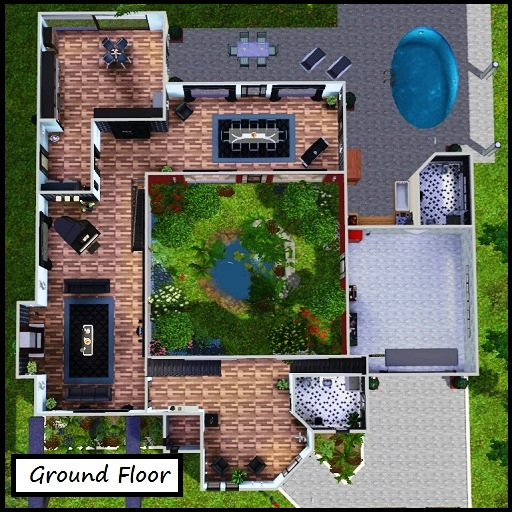 how to build fishing pond in ps4 sims4
