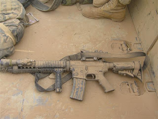 U.S. Air Force's rifle, the M16A4