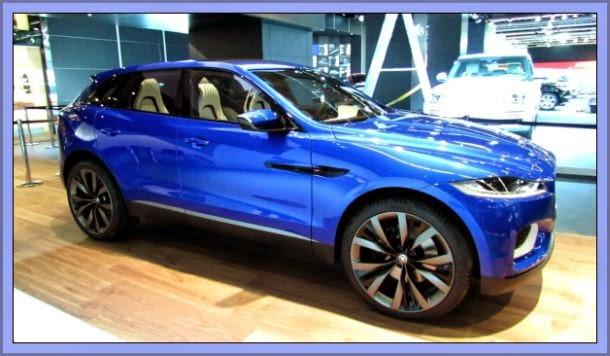 Jaguar SUV Nova máquina para 2015