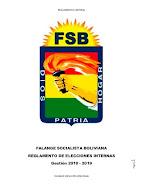 Reglamento Electoral Falange Socialista Boliviana