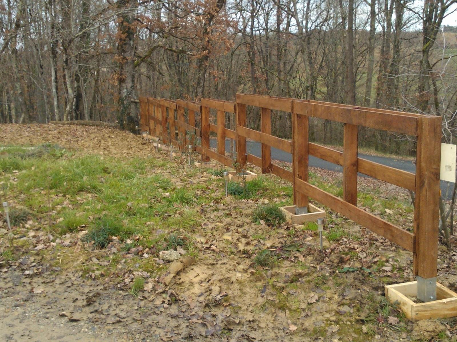 Clôture en panneaux bois piscine ~ Cloture Bois Piscine