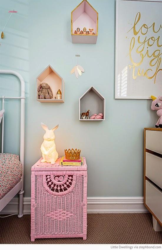 Boho deco chic enamorate de este dormitorio de ni a y di - Dormitorio infantil original ...