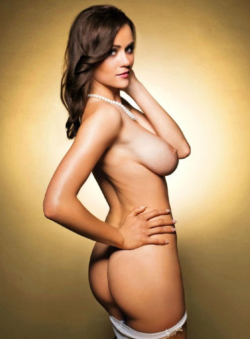 beautiful sexy Manja Dobrilovic nude for Playboy Slovenia pic 6