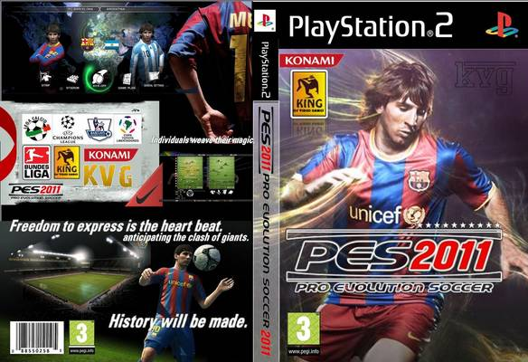 PES 2011 (PS2) Torrent Download