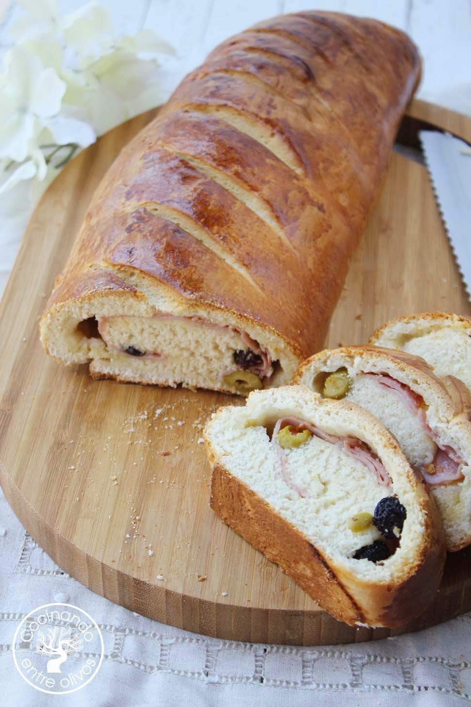 Cocinando entre olivos pan de jam n receta paso a paso for Cocinando entre olivos