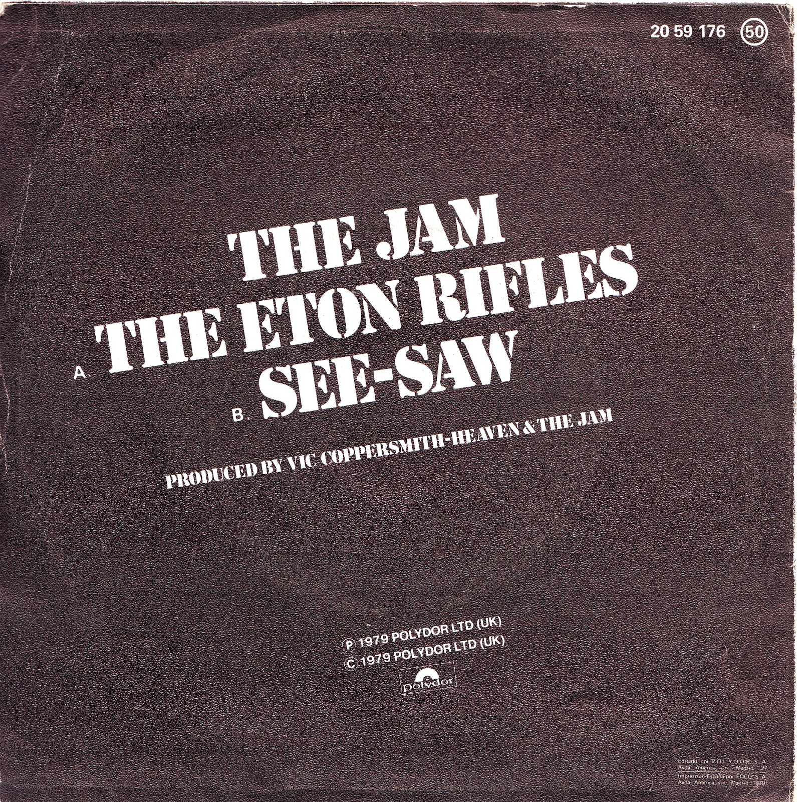 Jam The Eton Rifles See Saw