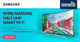 NYERJ SAMSUNG ÍVELT UHD SMART TV-T!