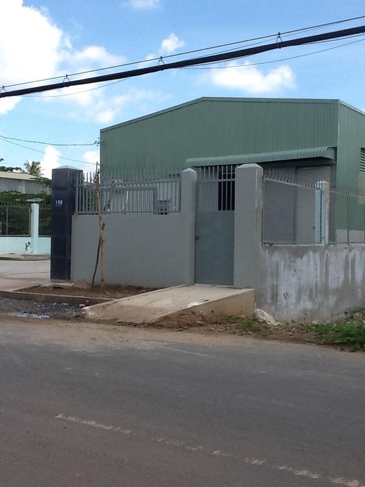 Cho thuê nhà xưởng mới xây phường thới an quận 12 diện tích 750m2 giá 25tr/th