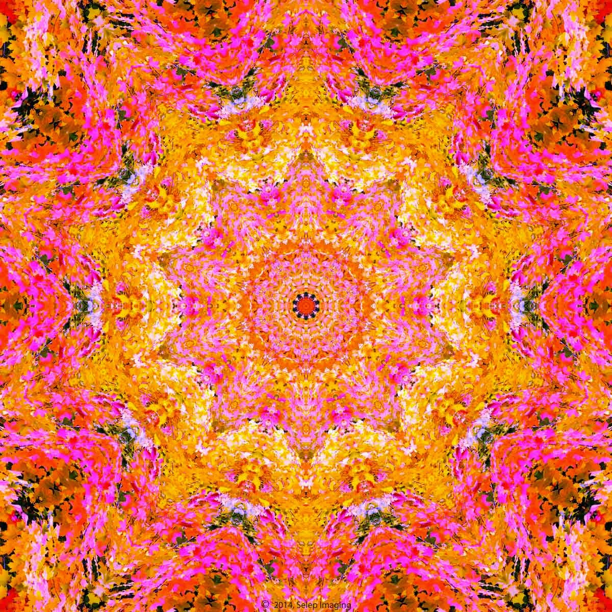 Kaleidoscope desktop background by Jeanne Selep