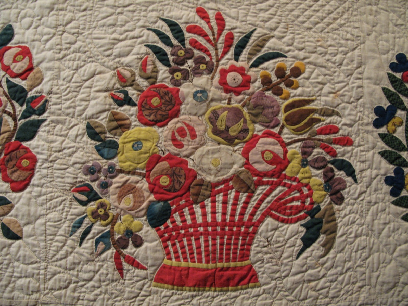 Flower Applique Quilt Patterns Interesting Inspiration Ideas