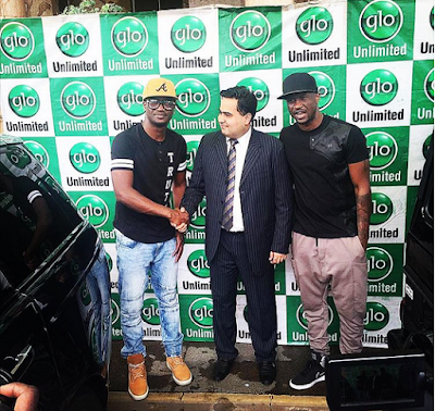 P Square gets brand new G Wagon and Range Rover Sports in Glo endorsement