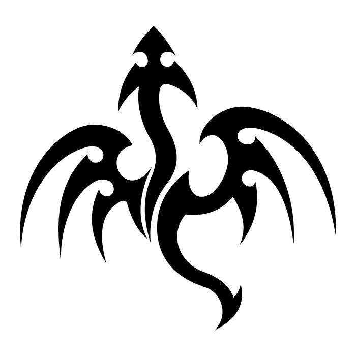 K Dragon Lizard TATTOOS: Dragon Tattoo...