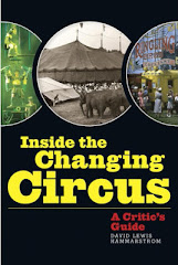 """""""BOLD AND AMBITIOUS ... TIMELY AND PROVOCATIVE!"""" –  Circus Report"""