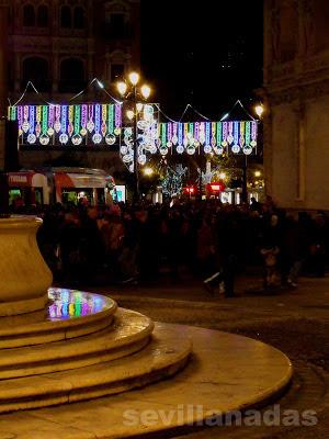 Plaza de San Francisco Navidad 2012 Sevilla