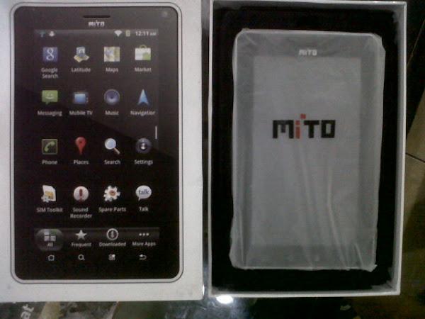 gambar tablet mito kotak penjualan t500, spesifikasi tablet mito