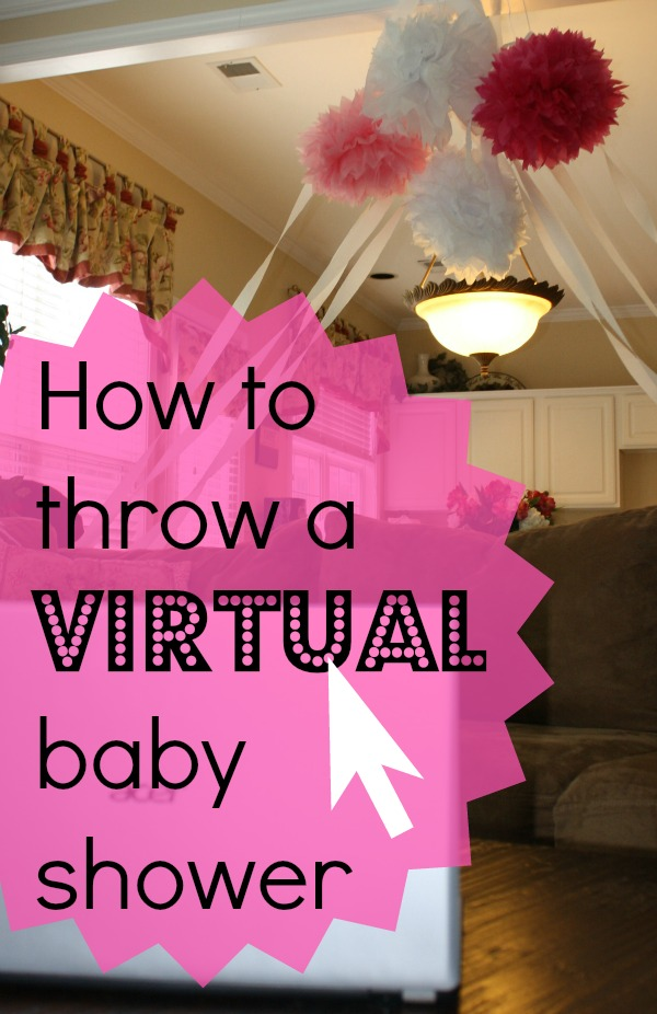 the parsonage family how to throw a virtual baby shower