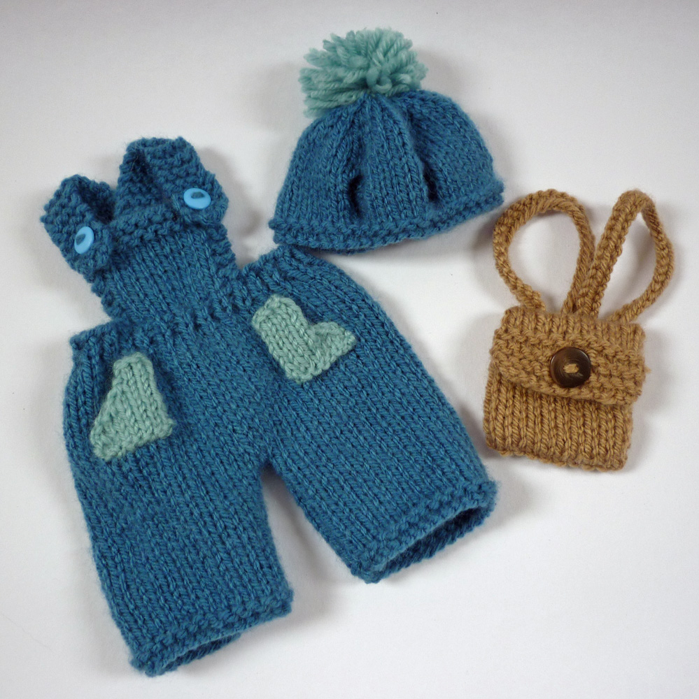 Knitted Rabbit Pattern : Mack and Mabel: Free Knitting Pattern for Rabbit Trousers