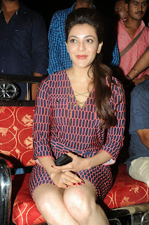 Kajal Agarwal Latest Pictures at Govindudu Andarivadele Movie Teaser Launch  8203.JPG