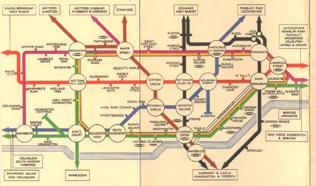cropped from a map found at httpwwwverydodgycomtube a wonderful archive of old tube maps