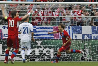 Grecia-Repubblica Ceca 1-2 highlights