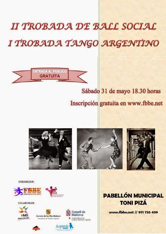 1ª trobada de Tango Argentino   para promocionar el tango !!