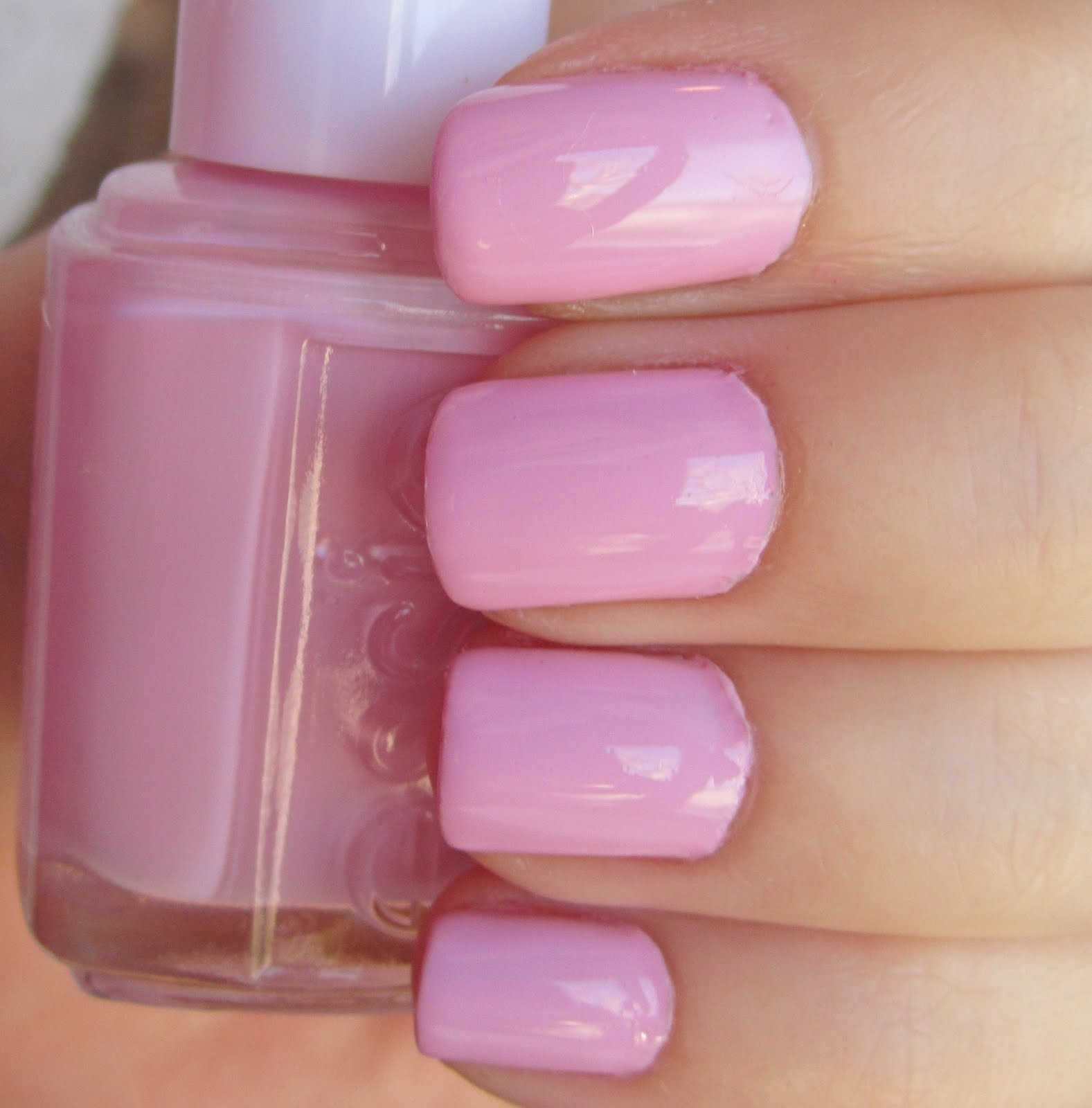 Best Light Pink Nail Polish Essie: The Beauty B.: Essie French Affair + Crackle Glaze