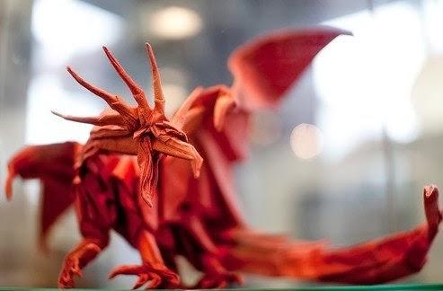 Ancient Dragon El Arte Del Origami