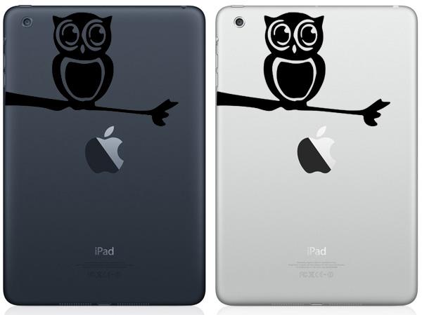 Owl iPad Mini Decals