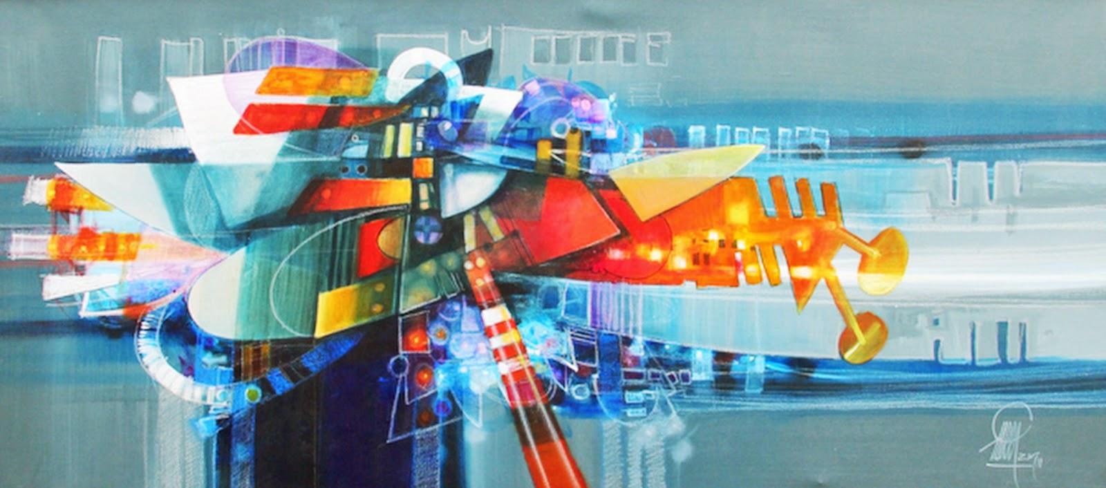 Cuadros pinturas oleos cuadros modernos pintados al leo - Fotos modernas para cuadros ...