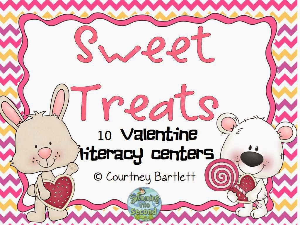 Sweet Treats literacy centers