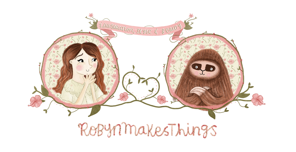 robynmakesthings / style, illustration, cruelty free beauty