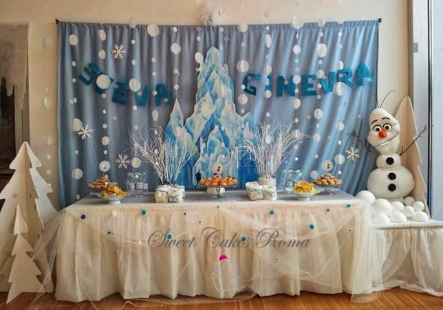 Favoloso Sweet Cakes Roma: Festa a Tema Frozen! JP71