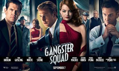 Gangster Squad, Ryan Gosling, Josh Brolin, Sean Penn, Emma Stone