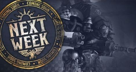 Imperial Knights Coming Next Weekend!!!!!!