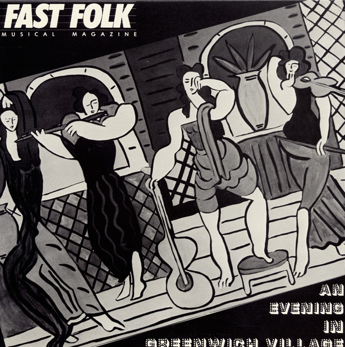 Fast Folk Musical Magazine (Vol. 4, No. 4) An Evening in Greenwich Village | Germana Pucci and friends – Chocolates and Shame