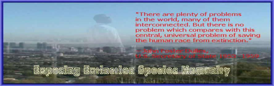 Exposing Extinction Species Humanity