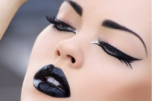 goth makeup designs. radge gothic make-up from