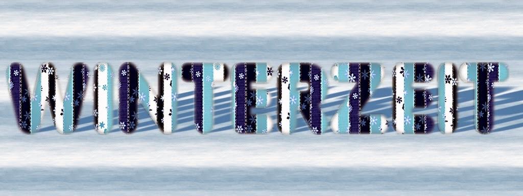 Schriftzug Winterzeit