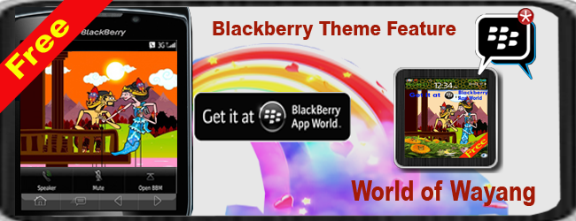 Blackberry Free Theme