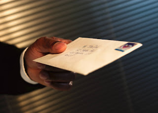 Correspondência, Carta com Selos